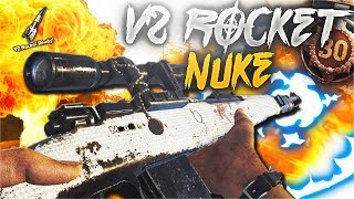 KAR98K DIAMOND CAMO V2 ROCKET (NUKE) GAMEPLAY COD WW2