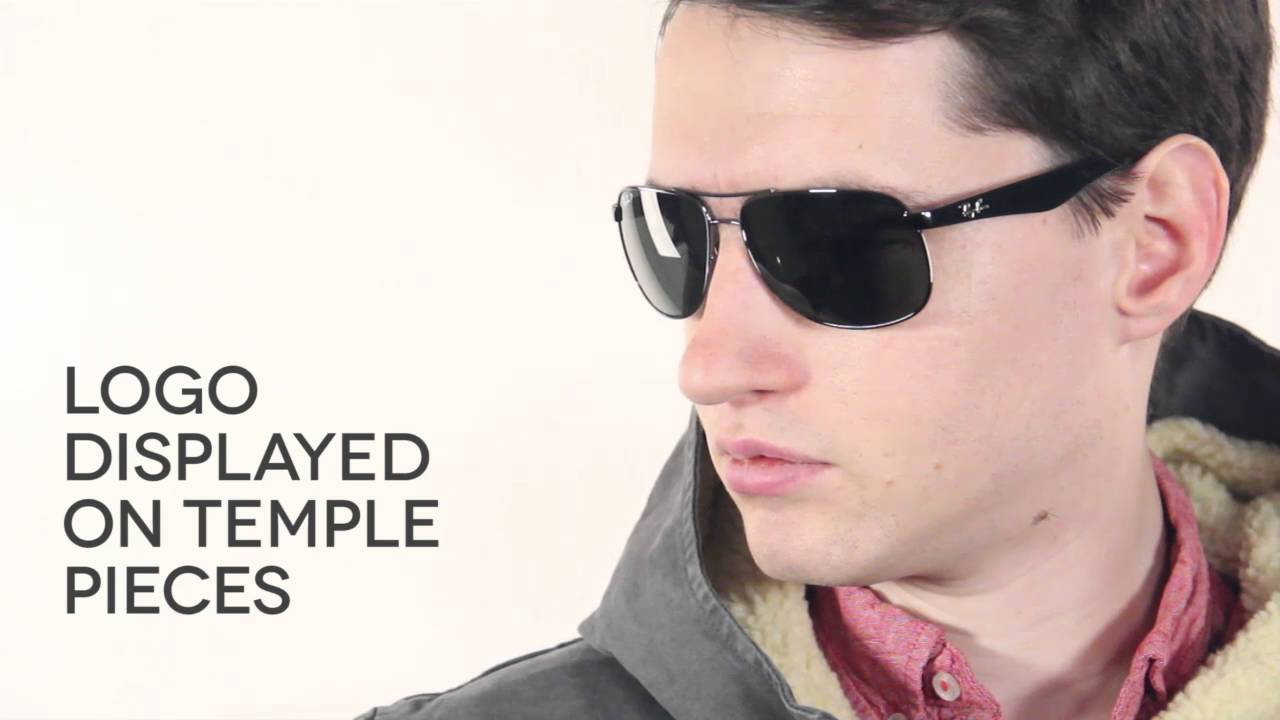 6db4b04e31 Ray-Ban RB3502 Highstreet Polarized 004 58 Sunglasses Review ...