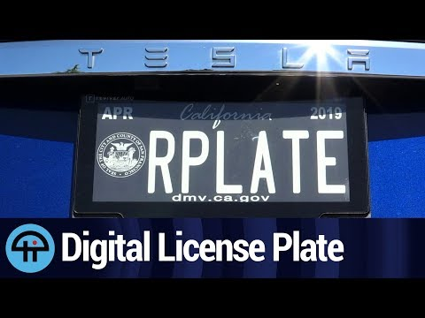 Digital License Plate Coming to a State Near You - Rplate Pro
