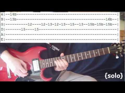 In Bloom by Nirvana - Full Guitar Lesson & Tabs w/ SOLO