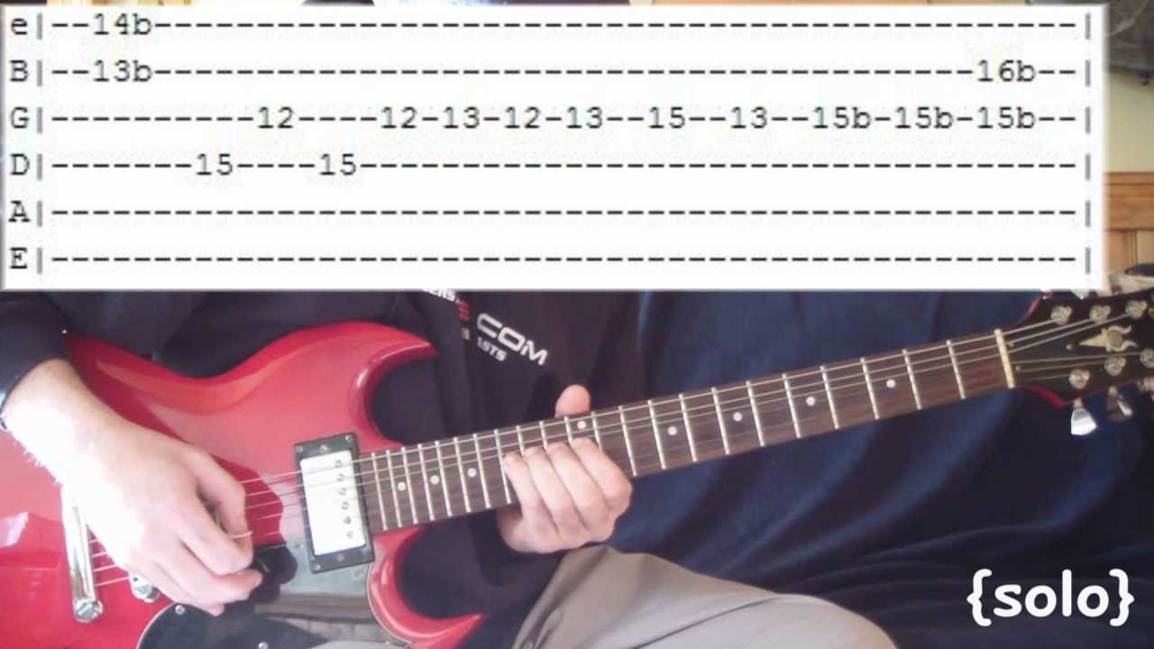 In Bloom By Nirvana Full Guitar Lesson Tabs W Solo Youtube