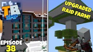 Truly Bedrock Episode 38! Building The BEST RAID FARM! Minecraft Bedrock Survival Let's Play!