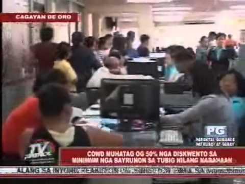 TV Patrol Northern Mindanao-Jan. 30,2012-LSG Dipolog w/ Lara Quigaman