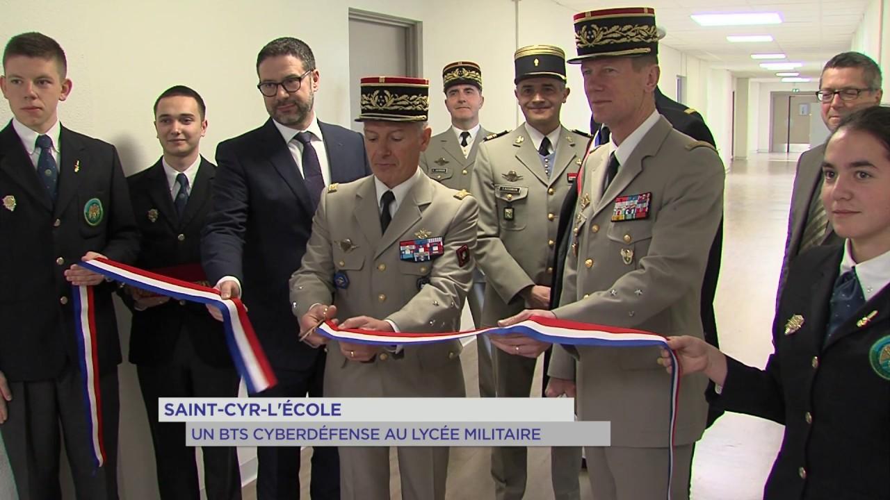 Cybersécurité : un BTS ouvert à Saint-Cyr-l'Ecole