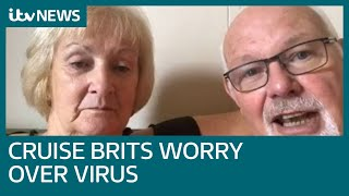 Brits on stricken ship worry they have tested positive for virus   ITV News