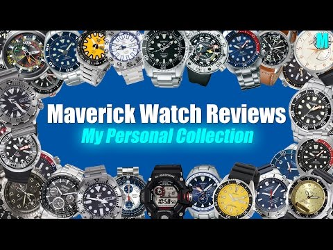 My Personal Watch Collection Review! | Seiko, Citizen, Casio & Victorinox