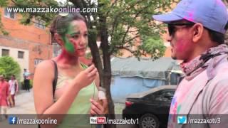 Mazzako Holi Guff with Priyanka Karki || Holi 2072 || Mazzako TV