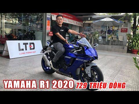 Có gì hay ho trên YAMAHA R1 2020 giá 729 triệu - rẻ hơn 220 triệu so với Honda CBR1000RR-R