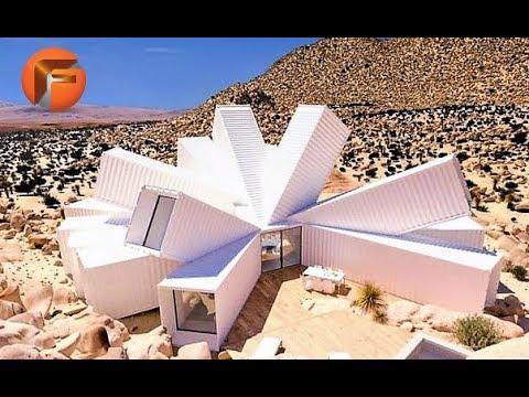 8 Unbelievable Shipping Container Structures