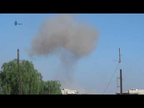 Daraa: Syrian Regime Bombard Daraa Al-Balad Neighborhoods 17-5-2017