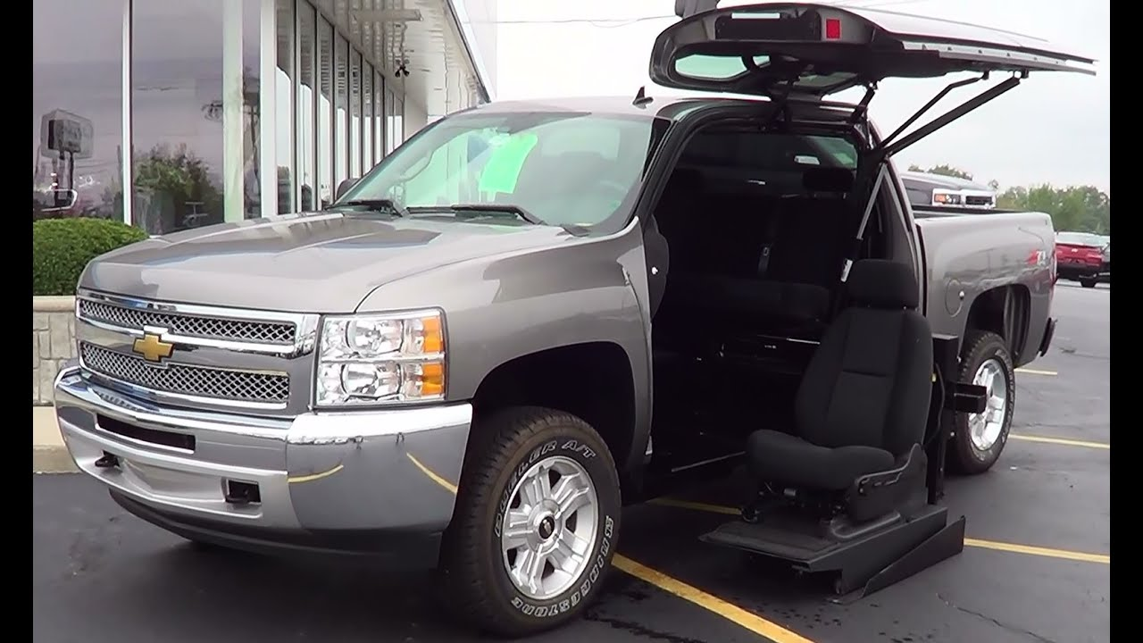 Chevrolet Pick Up >> 2013 Silverado Disabled Veterans Contest Summit City Chevrolet - YouTube