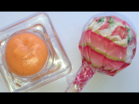 LÀM SON MÔI TỪ KẸO MÚT - DIY Lipstick & Lip Balm Out of Candy (Galaxy, Rainbow) with AlejandraStyles