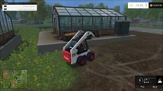 Farming simulator 2015 bobcat skid steer mod