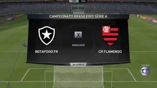 Botafogo x Flamengo FIFA 15 PC