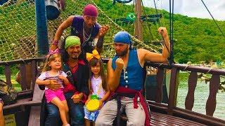 Piratas vs Crianças, Laurinha foi Capturada pelos Piratas !