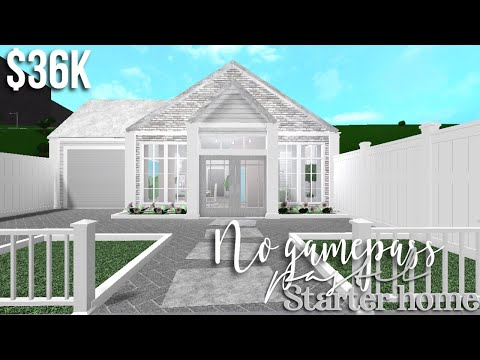 Pastel One Story Family Home Bloxburg Roblox Gamingwithv No Gamepass Pastel Home Bloxburg House Build Gamingwithv Youtube