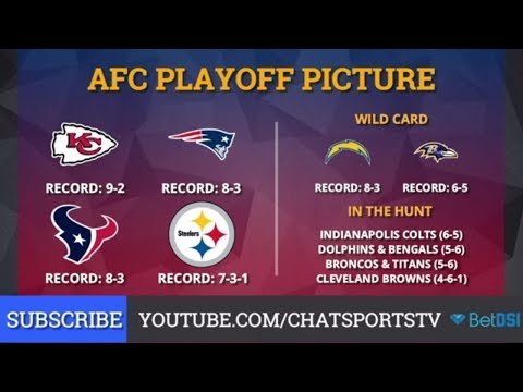NFL Playoff Picture: Clinching Scenarios And Standings For The NFC And AFC