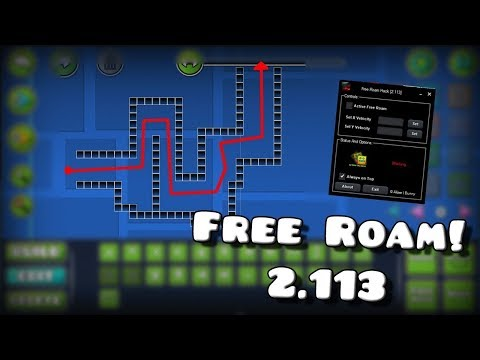 ✔ NEW Geometry Dash 2.113/2.114 FREE ROAM Hack (COMPLETE ALL LEVELS YOU WANT)