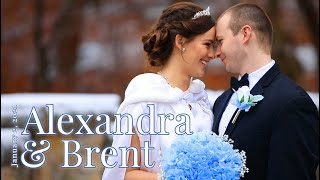 """Only To Her Does My Heart Belong"" Alexandra & Brent Wedding"