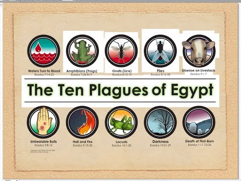PLAGUES of EGYPT Revealed! What Religion Won't Tell You Will Change You Forever.