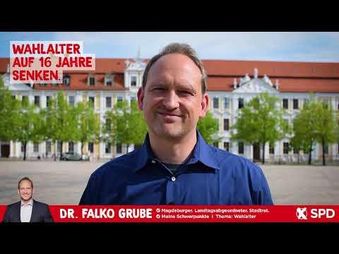 Wahlalter auf 16 Jahre senken - Dr. Falko Grube, SPD