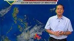 UB: Malaking bahagi ng Visayas at Mindanao, magiging maulan ang panahon dulot ng LPA