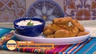 Receta: Criadillas empanizadas   Cocineros Mexicanos