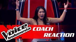 Babak Knockout Yang Bikin Merinding Coaches 👏 | COACH REACTION | The Voice Indonesia GTV 2018