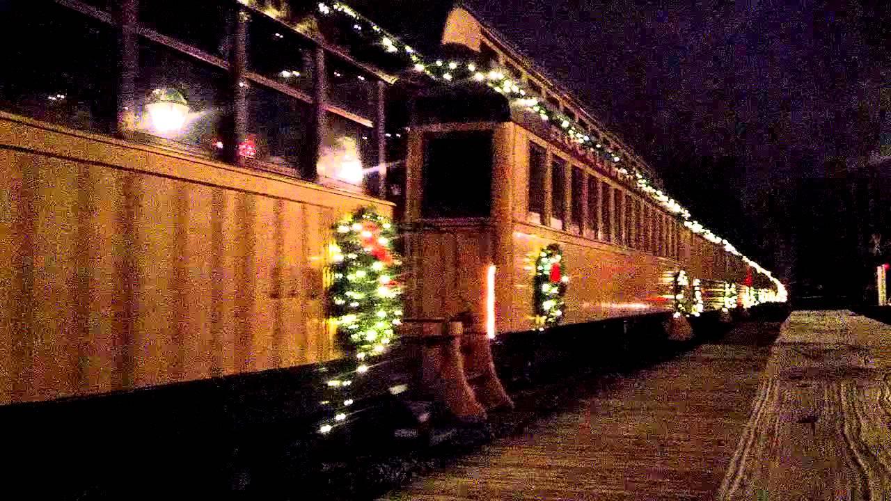 Huckleberry Railroad Christmas Train 2 Dec.1, 2012 - YouTube