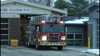 London Fire Department - Truck 9 Responding.