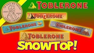 Toblerone Limited Edition Swiss Milk Chocolate Honey Almond Nougat Christmas Candy Stocking Stuffer