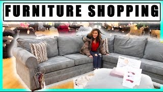 BUYING A NEW COUCH! SHOP WITH ME - NYC FAMILY