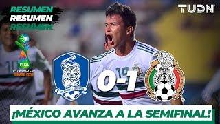 Resumen y Goles | Corea del Sur 0 - 1 México | Mundial Brasil Sub-17 - Cuartos | TUDN