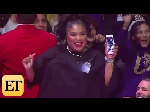 Maddox - Lizzo Twerks In Her THONG At An NBA Game!