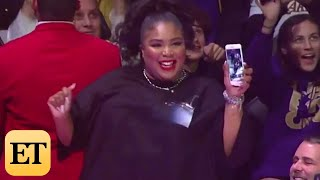 Lizzo Twerks In Her THONG at NBA Game