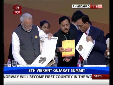 Pm Modi Releases The Policy Booklet Coffee Table Book At