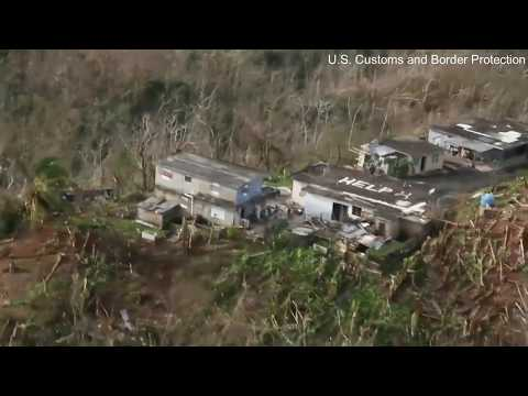 """""""Help"""" Painted On Rooftop Leads To Rescue In Puerto Rico"""