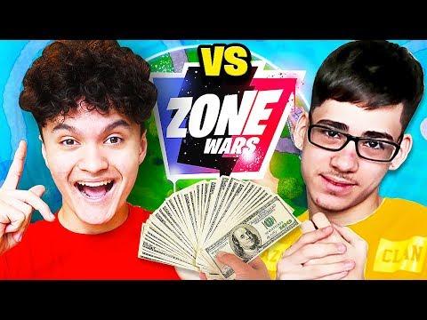FaZe Sway VS FaZe Jarvis $50,000 Fortnite Zone Wars Challenge