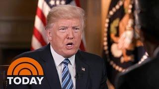 President Trump Talks North Korea, Afghanistan, Health Care: (NBC Exclusive) | TODAY
