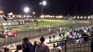 Stockton 99 Dirt Track (and Silver Dollar Speedway too!), Stockton, California - Racing action