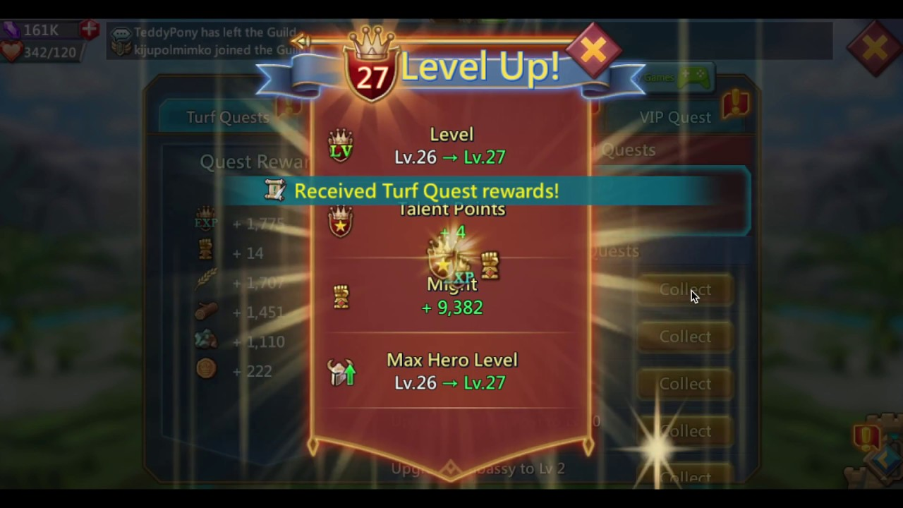EXP for FREE - Lords Mobile Guide to Greatness #7