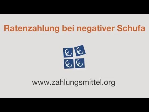 Ratenzahlung bei negativer Schufa - Geht das? from YouTube · Duration:  3 minutes 13 seconds