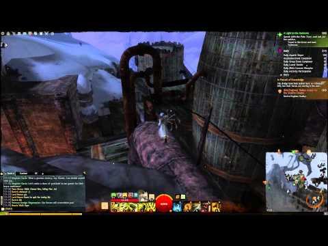 Guild Wars 2 Black Earth Coalmine Vista Dredgehaunt Cliffs