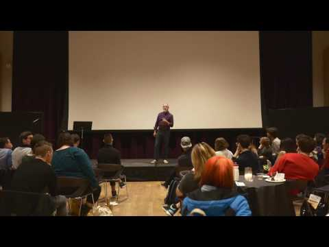 Mark Aldrich - Poem for Dave at the 2016 New Masculinities Festival