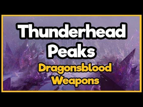 Guild Wars 2  - Thunderhead Peaks - Dragonsblood Weapons thumbnail