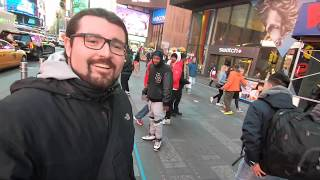 TimeWarp Gopro Vlog - Going Around New York City!