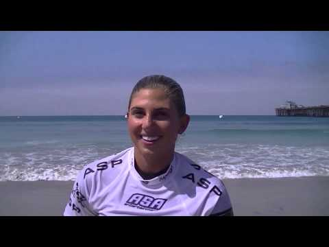 Sage Erickson Interview at the 2014 SuperGirlPro in Oceanside