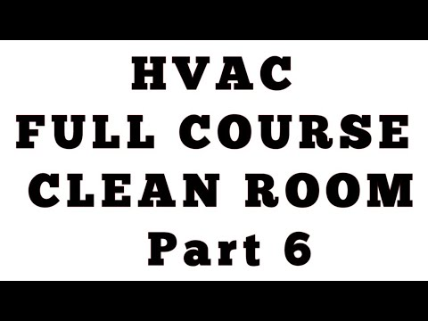 Clean Room part 6 ll HVAC Course