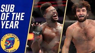 Aljamain Sterling, Zabit Magomedsharipov share submission of the year | Ariel Helwani's MMA Show
