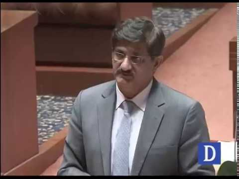 CM Sindh Murad Ali Shah briefing on Sehwan blast in Provincial Assembly